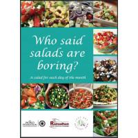Who Said Salads Are Boring?