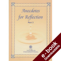 Anecdotes for Reflection - Part III - Downloadable Version (EPUB and MOBI)