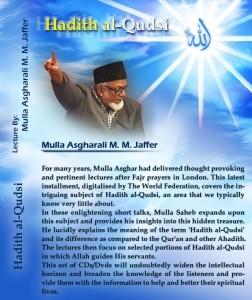 Hadith al Qudsi - Lectures (Audio)