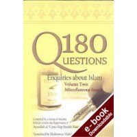 180 Questions - Volume 2 - Downloadable Version (EPUB and MOBI)