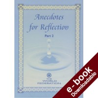 Anecdotes for Reflection - Part II - Downloadable Version (EPUB and MOBI)