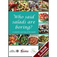 Who Said Salads Are Boring? - Downloadable Version (PDF)